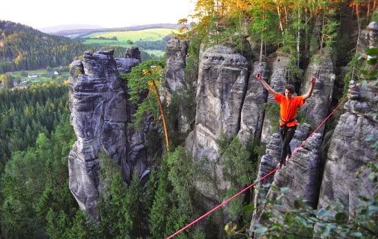 Adršpach-Teplice se figura entre las formaciones rocosas más visitadas de la República Checa.