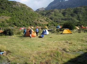 Reservas a los Campamentos Liberados del parque