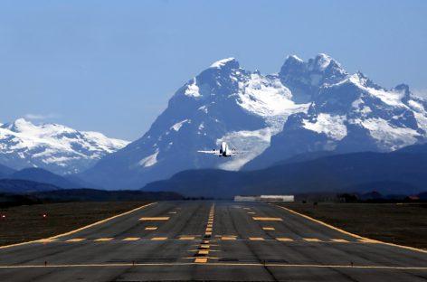 Puerto Natales se alista para recibir vuelos directos.