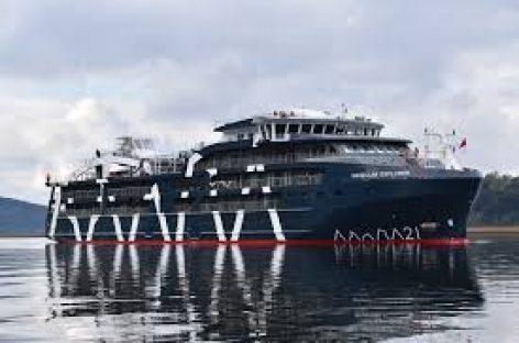 LLego a Punta Arenas el primer crucero antartico construido en Chile